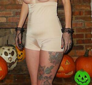 Nude Short Leg Panty Girdle 4X shapewear pantie pinup retro high waist plus size