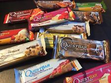 Quest Protein Bars -  1 x Pack of 12 Assorted Flavoured  Bars