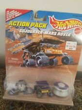 1996 Hot Wheels Action Pack JPL Sojourner MARS ROVER Pathfinder Mission 7/4/97