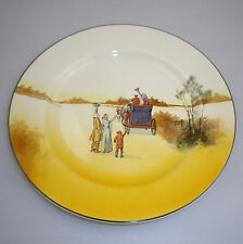 "Royal Doulton Series Ware ""COACHING DAYS  Pattern""  LUNCHEON  Plate"