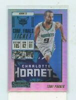 TONY PARKER 2018-19 Panini Contenders Conference Finals Parallel #D /135