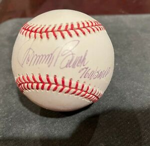 "Johnny Bench Cincinnati Reds ""1976 WS MVP"" Signed World Series Baseball - COA"