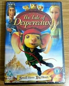 The Tale of Despereaux [DVD] [2009] Animated Fantasy Mouse Hero
