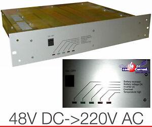 48V Dc > 220V AC Voltage Converter 300 W Inverter Pwr Adapter 48VOLT > 220