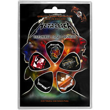 OFFICIAL - METALLICA - HARDWIRED TO SELF DESTRUCT - CLASSIC 5 PLECTRUM PACK