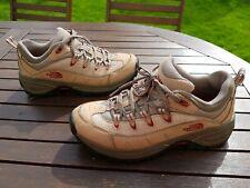The North Face walking shoes size 5 Eur 38.5 tan worn three times VVGC UK Seller