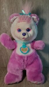 Hasbro Baby Cub Surprise Pink Mother With 0 Cubs, 1992 Vintage Plush Bear