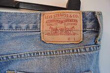 Vintage Levis 758 blue jeans size W 34 L 29 button fly