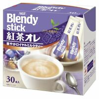 AGF Japan Blendy Stick - TEA AU LAIT (Royal Milk Tea), 30-Sticks