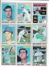 ***1970 Topps 5th Series Baseball PICK LOT-YOU Pick any 1 of 34 cards for $1!