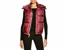 NWT $495 Free City Life Nature Love Ogdove Puffer Vest in Berry; S