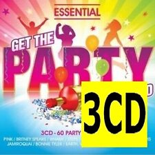 ESSENTIAL GET THE PARTY STARTED 3CD NEW Pink Britney Spears Outkast Toploader