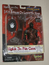 Toy Vault Middle Earth Lord of the Rings LOTR Ugluk In His Cave Orc Figure