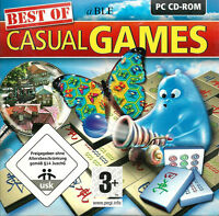 PC CD-ROM + Best of Casual Games + Mahjongg + Match 3 + Marble Games +Vista