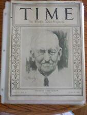 Time Magazine June 29, 1925 Theodore Elijah Burton