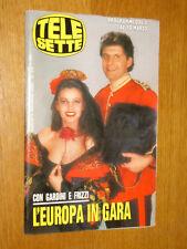 TELESETTE 1990/10=FRIZZI GARDINI=VERONICA CASTRO=FEDERICA MORO COLLEGE=MINOLI=