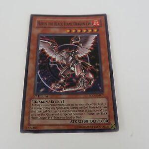 YU-GI-OH  Horus the Black Flame Dragon LV6 SOD-EN007 1st Edition Super Rare