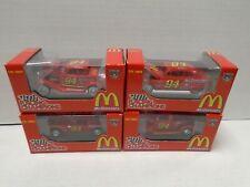 Bill Elliott #94 McDonald's 1:64 Die Cast Set of 4 Cars Set #2 062719AMCAR3