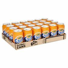 Fanta Orange Fizzy Drinks 330ml case of 24