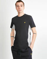 Lyle and Scott Men Print Panel T-Shirt