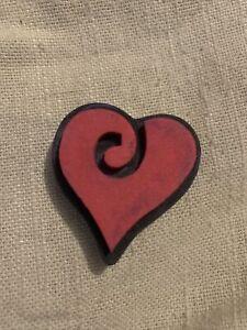 Foam Heart Stamp