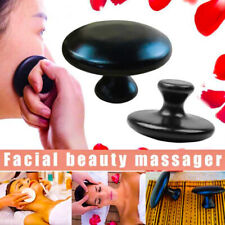 Hot Massage Mushroom Shape Stones Set Bian Spa Heater Warmer Basalt Rock Therapy