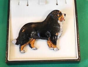 Fantastic Dog Show jewellery Breed Brooch - Bernese Mountain Dog
