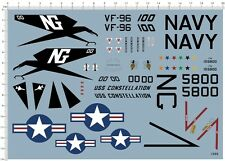 Detail Up 1/48 US Air Force USAF F-4J Phantom II VF-96 Fighter Model Kit Decal