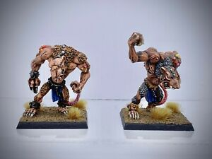 Warhammer - Skaven Rat Ogres painted (classic discontinued metal minis)