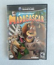 Madagascar (Nintendo GameCube, 2005) - Complete Black Label