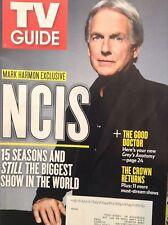 Tv Guide Magazine NCIS Mark Harmon November 26, 2017 122817nonrh