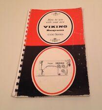 Viking Husqvarna 6300 series Instruction book
