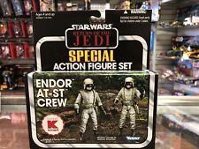 Star Wars Vintage Collection ENDOR AT-ST CREW 2-Pack Set Kmart 2012 New Sealed