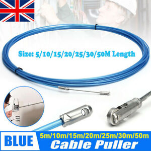 Electricians Tape Cable Puller Tool Rods Wires Draw Push Pulling 5/10/20/30/50M