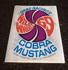 NOS Shelby original 1969 Cobra-Jet sales brochure! Wild Wheels Showroom! Scarce!