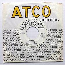 EARTH & FIRE Progressive Rock VG+ Promo ATCO 45 SEASONS short b/w long vers. c53