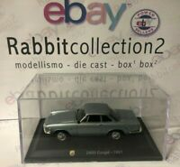 "DIE CAST "" 2400 COUPE' - 1961 "" + TECA RIGIDA  BOX 2 SCALA 1/43"
