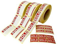 SOLD - Stickers / Tags / Labels / Sticky Labels - Removable Adhesive