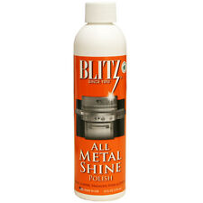 Blitz All Metal Shine Brass, Copper, Chrome & Stainless Steel Metal Polish - 8oz