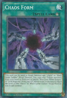 Yugioh Chaos Form - 1st Edition - NM+ Card