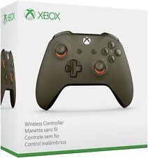 Microsoft Xbox One S Wireless Controller Military Green/Orange BRAND NEW, SEALED
