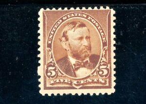 USAstamps Unused VF US 1890 Issue Grant Scott 223 OG MNH