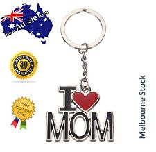 Metal Key Rings Letter I LOVE MOM mum keychain mother's day gift mother present