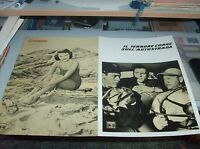 Brochure the Terrore Running on the Highway with M.Rooney - Columbia 1954
