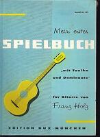 Mein erstes Spielbuch für Gitarre ~ Franz Holz