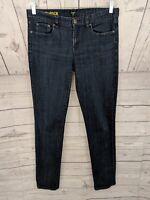 J CREW Women's Toothpick Skinny Dark Wash Jeans - Size 29 x 31