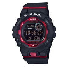 CASIO G-SHOCK GBD-800-1ER EN ROJO CON BLUETOOTH Y STEP TRACKER, PODOMETRO