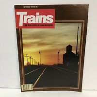 Trains The Magazine Of Railroading Back Issue September 1979 Troop Train The KCS