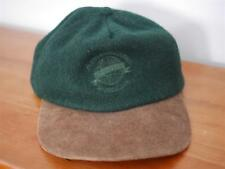 1dc5b19bc8a0 Adventure Bound Vintage Style Baseball Hat Cap Green Tan Wool Leather OSFA