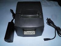 AddMaster IJ7200-2C IJ-7200 USB Inkjet Receipt Printer W// AC adapter TESTED!!